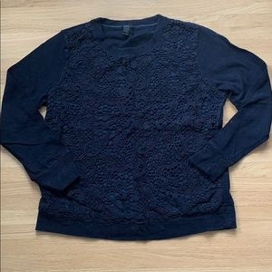 J. Crew sweatshirt large